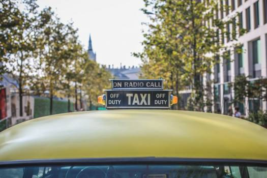 Classic Yellow Taxi Cab Free Photo #403200