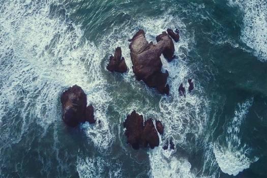 Rocks Sea Summer Free Photo #403207