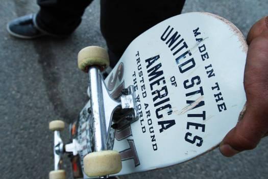 Overhead Skateboard Vintage Free Photo #403247