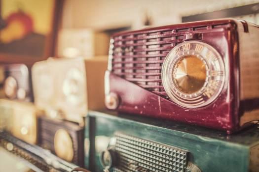 Retro Radio Free Photo #403256