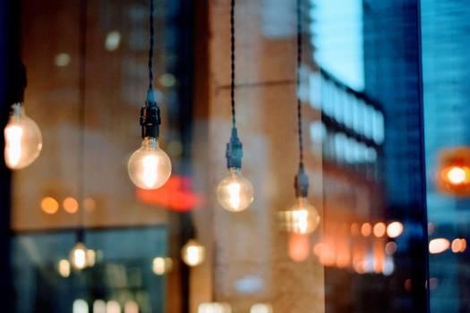 Light Bulbs Shop Window City Free Photo #403267