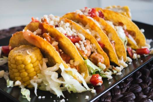 Chicken Tacos Cheese Sweetcorn Free Photo #403274