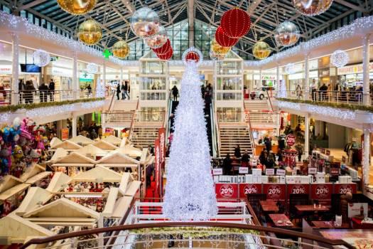 White Glass Christmas Tree Free Photo #403318