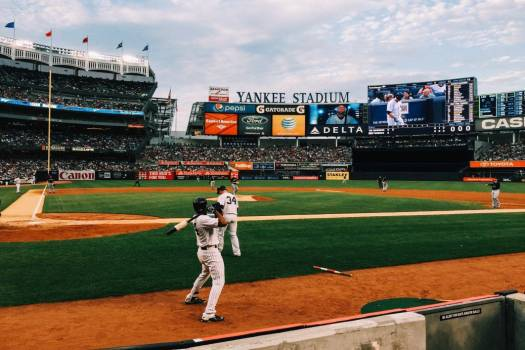 Professional Baseball Yankee Stadium Free Photo #403365