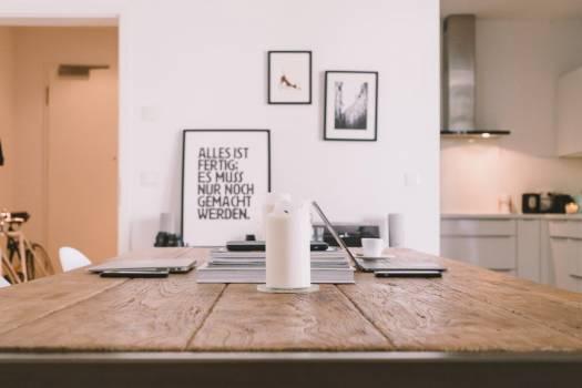 Minimal Desk Office White Free Photo #403381