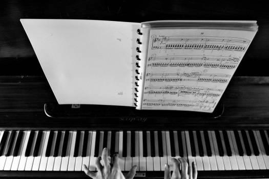 Sheet Music Piano Free Photo #403403