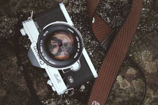 Retro Canon Camera Free Photo #403404