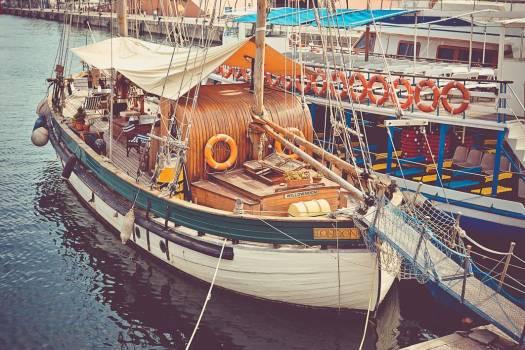 Classic Sailing Boat Sea Free Photo #403434