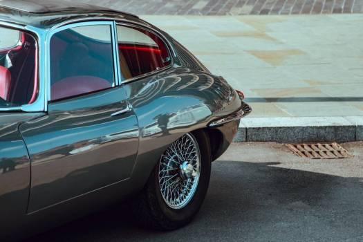 Classic Black Jaguar Car Free Photo #403441