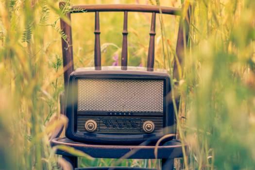 Retro Radio Dial Field Free Photo #403444