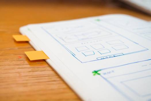 Sketch Wireframe Web Design Notes Free Photo #403457
