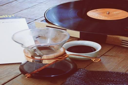 Vinyl Player Coffee Free Photo #403475