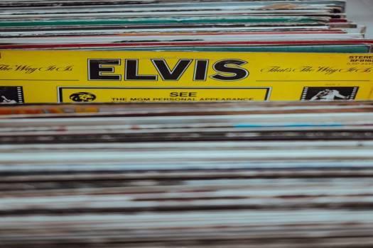 Elvis Vinyl Free Photo #403527