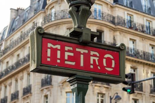 Metro Street Sign Free Photo #403537