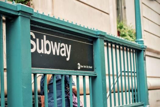 Subway Sign Free Photo #403624