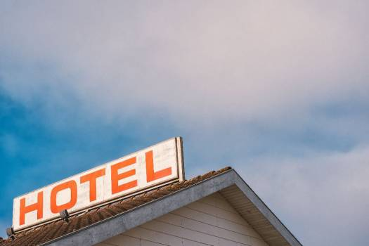 Retro Hotel Sign Free Photo #403626