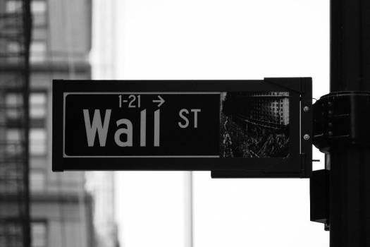 Wall Street Sign Free Photo #403627