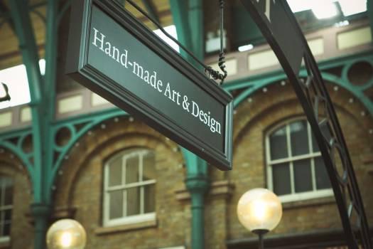 Hand Made Art Design Sign Free Photo #403628