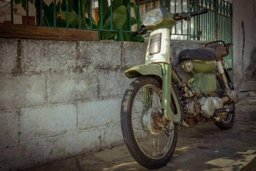 Vintage Yamaha Motor Scooter Free Photo #403683