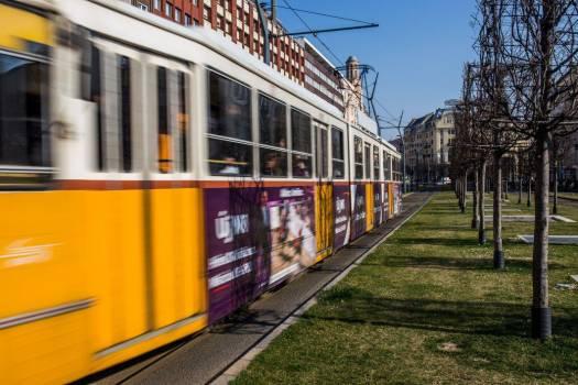 Yellow Tram Free Photo #403701