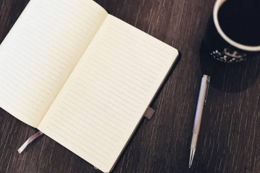 Notepad Pen Coffee Desk Free Photo Free Photo