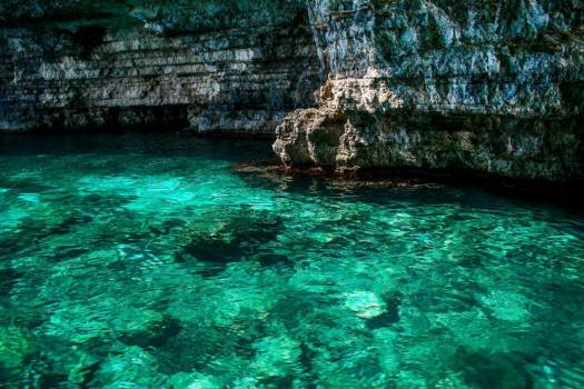 Clear Water Cliff Free Photo #403768