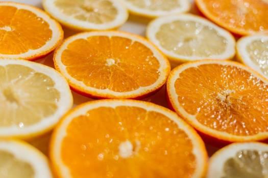 Sliced Orange Fruit Free Photo #403809