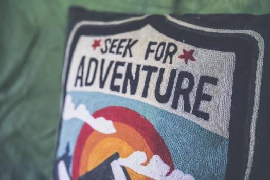 Seek for Adventure Pillow Free Photo Free Photo