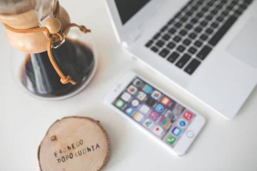 Minimal Desk and Coffee Free Photo #403857