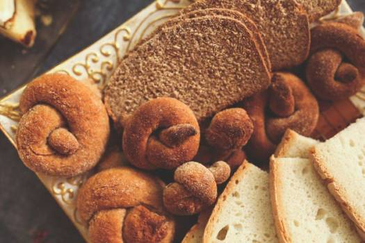 Homemade Bread and Bagels Free Photo #403866