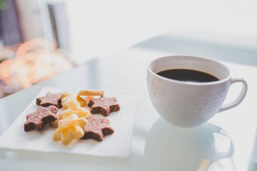 Star Shaped Cookies Coffee Free Photo #403978