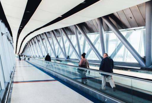 Walking Through Airport Free Photo #403984