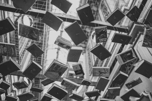 Books Sculpture Modern Art Free Photo #404013