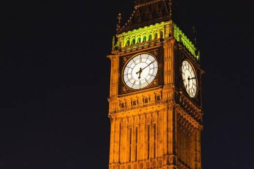 Big Ben at Night Free Photo #404014