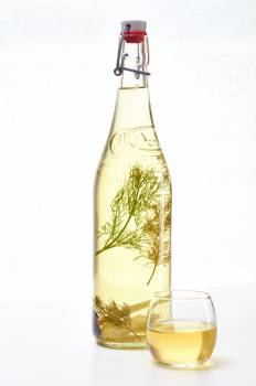 Bottle Glass Alcohol #404080