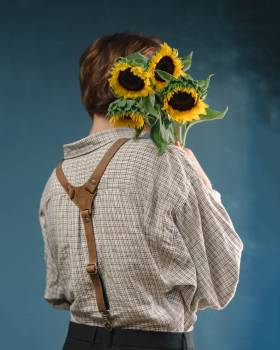 Sunflower Clothing Portrait #404241