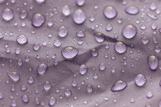 Water Droplets on Fabric Free Photo Free Photo