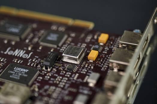 Circuit board Chip Microprocessor #404471