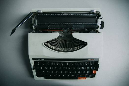 Portable Keyboard Typewriter keyboard #404667