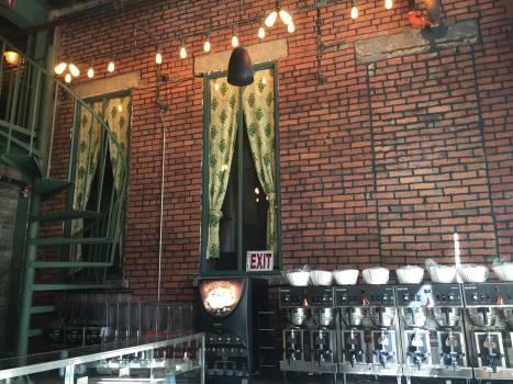 Gray Machine Near Green Window Curtain during Nighttime #40471