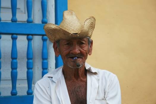 Man person cigar cigarette Free Photo