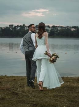 Groom Bride Wedding #404903