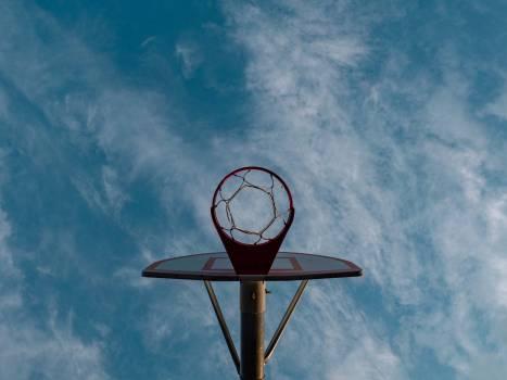 Backboard Equipment Sky Free Photo