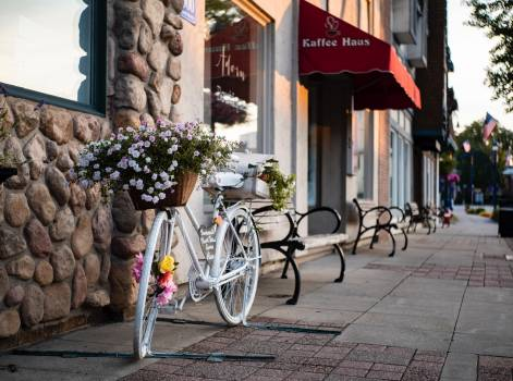 Bicycle Jinrikisha Carriage Free Photo