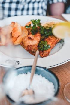 Plate Meal Dinner #405569