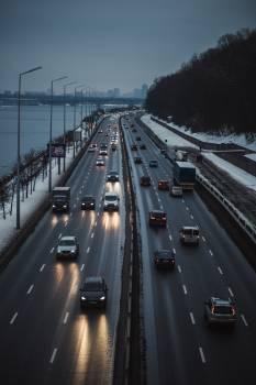 Expressway Road Highway Free Photo