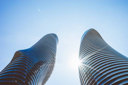 Buildings glass architecture curves #40653