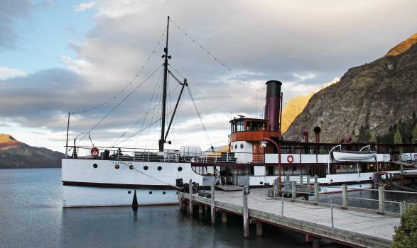 Mountain Harbor Boat Free Photo #406577