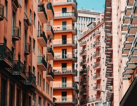 Architecture Balcony City #406928