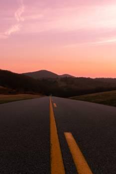 Asphalt Road Landscape #407371